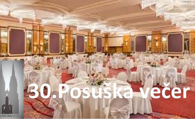 30-ta POSUŠKA VEČER
